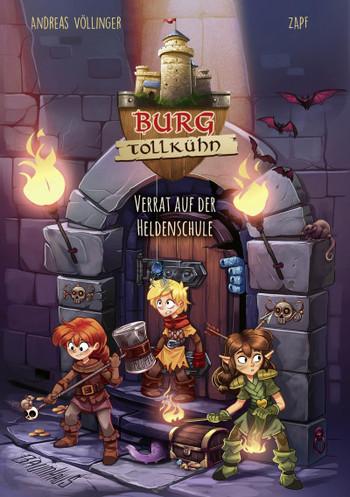 Andreas Völlinger, Zapf, ab 8, selber lesen, Ritter, Burgen, Grundschüler, spannend