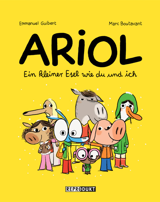 Emmanuel Guibert, Marc Boutavant, Kindercomic, Reprodukt, Tierfiguren