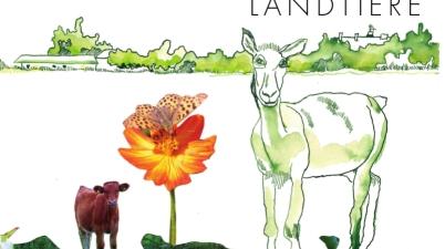 Susanne Haun und Gerd Knappe, Bilderbuch, Pappbilderbuch, Bauernhoftiere, Tiere, vorlesen, Buchtipp, Familie, kleine Kinder, Kunst, Aquarell, Collage