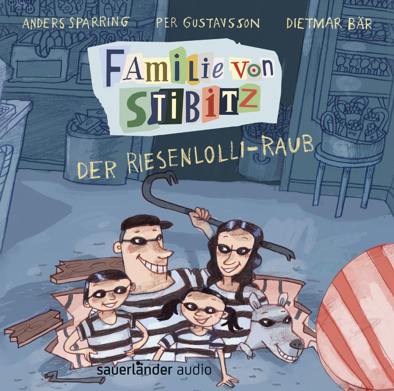 Anders Sparring, Per Gustavsson, Dietmar Bär, Argon Hörbuch, Kinderbuch, Familie, Hörspiel, lustig
