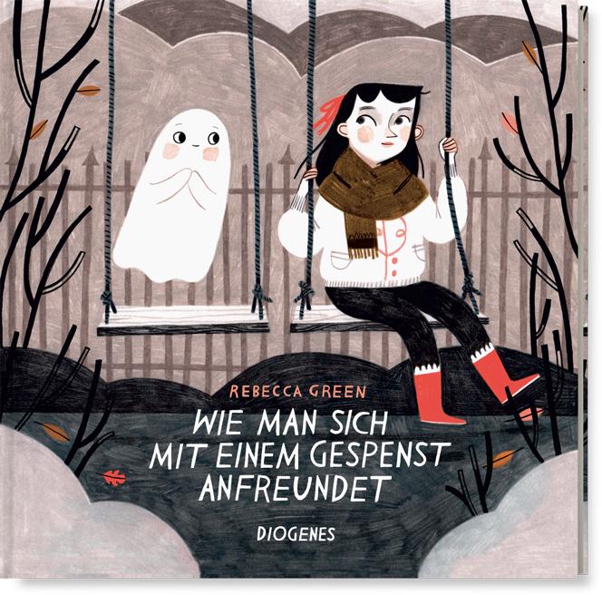 Rebecca Green, Diogenes, Bilderbuch, Angst, Geister, Gespenster, Monster, Kindern Angst nehmen