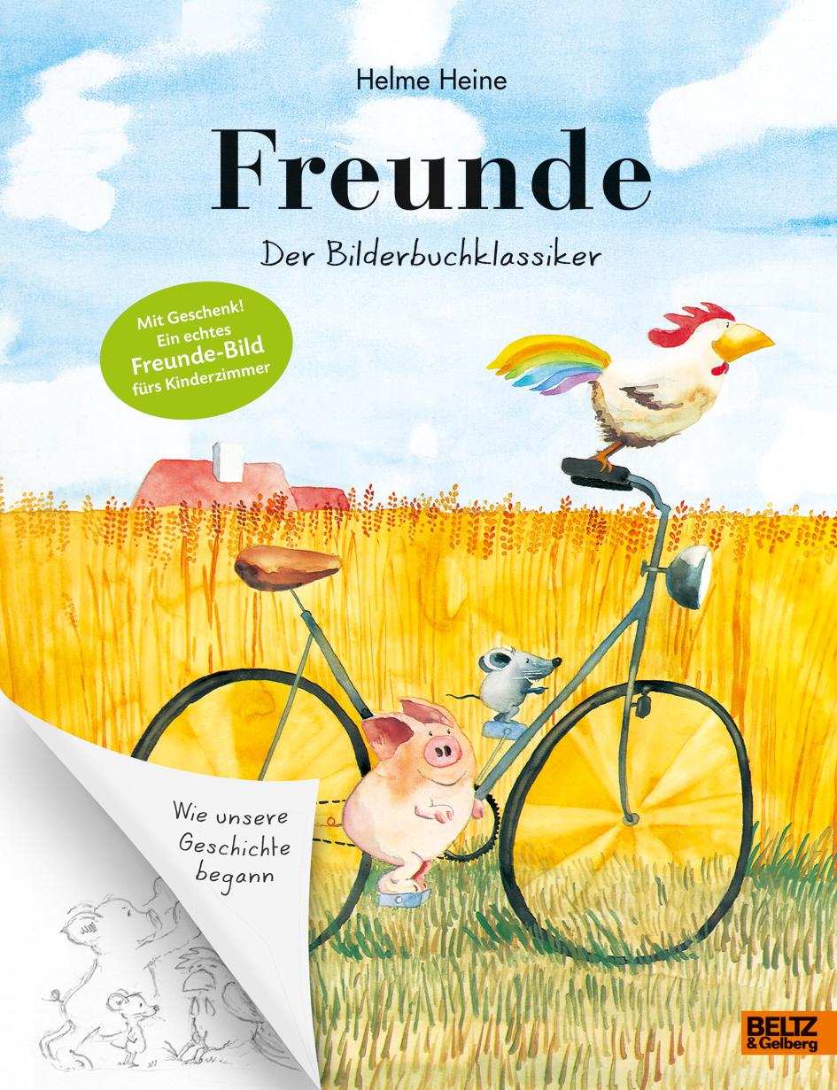 Helme Heine, Interview, Kinder, Bilderbuch, vorlesen