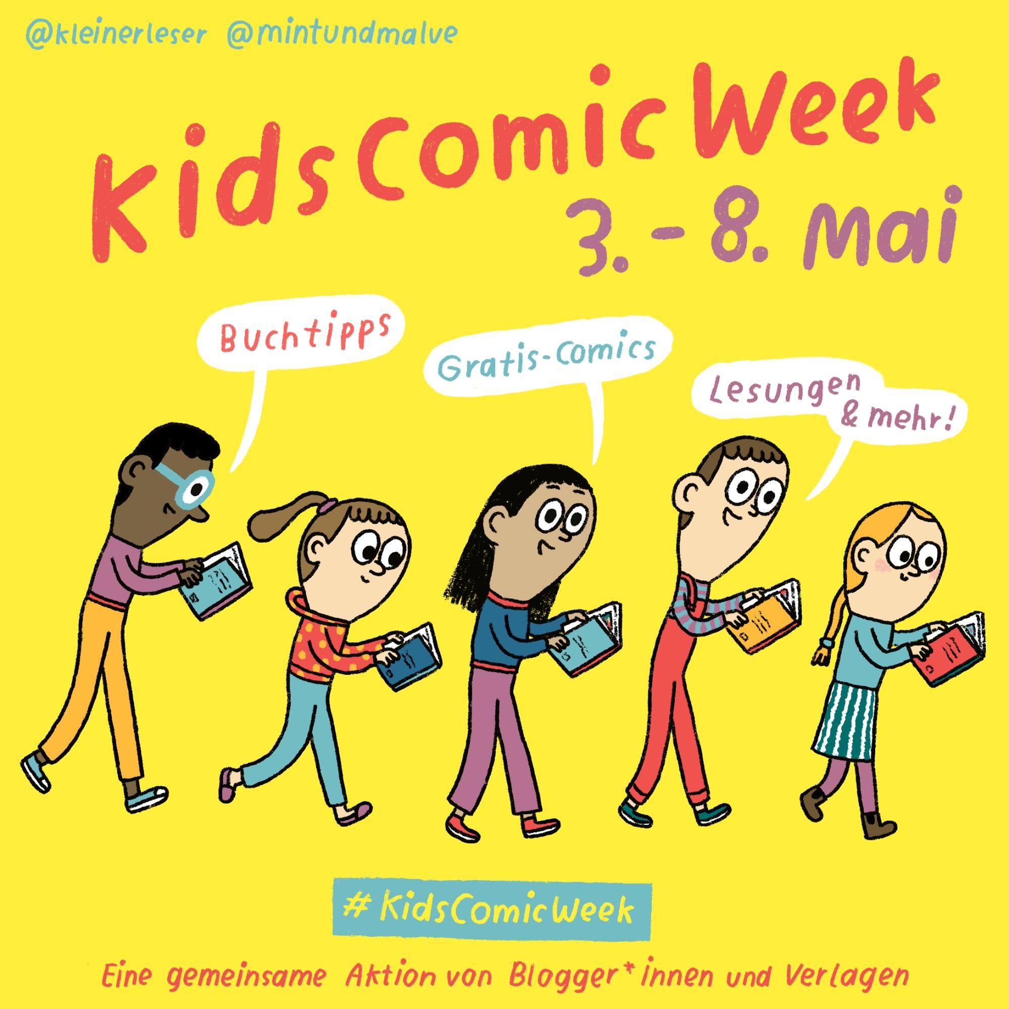 Kids Comic Week: Alles klar, Dracula - Juli liest