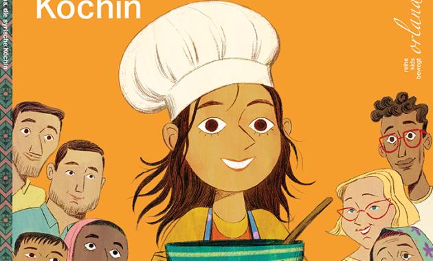 Danny Ramadan, Anna Bron, Syrien, Geflüchtete, Kinder, kochen, Foul Shami, Heimat, Kindergarten