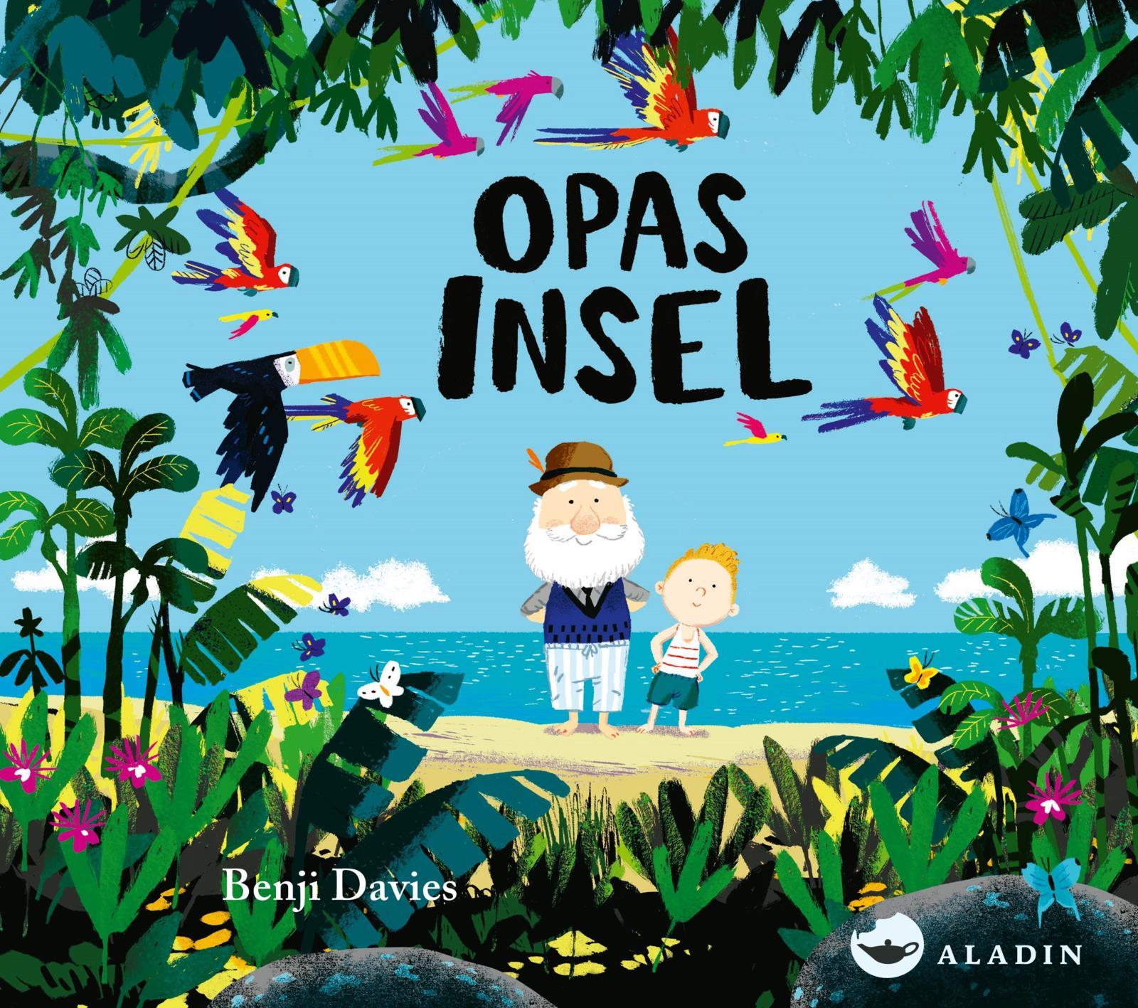 Benji Davies, Pappbilderbuch, Opa, Großeltern, Sterben, Tod, Abschied, vorlesen, Bilderbuch, Familie