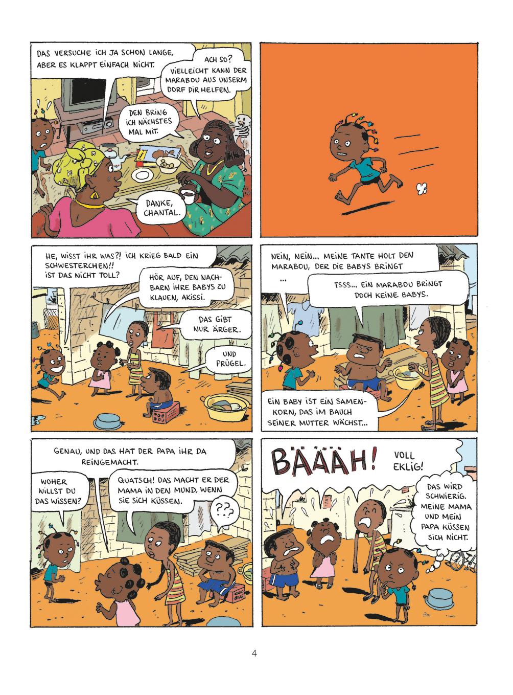 Abouet, Sapin, Kindercomic, Afrika, Elfenbeinküste, vorlesen, Grundschule, Comic, selber lesen