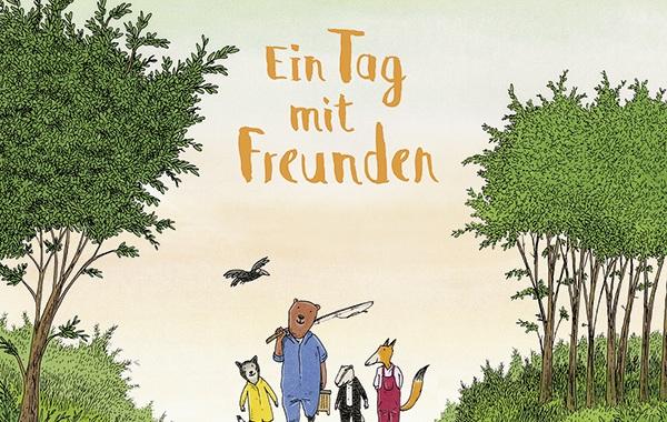 Philip Waechter, Bilderbuch, Freundschaft, Resilienz, Glück, vorlesen, Kindergarten, Ruhe, Familie, Kleinkinder