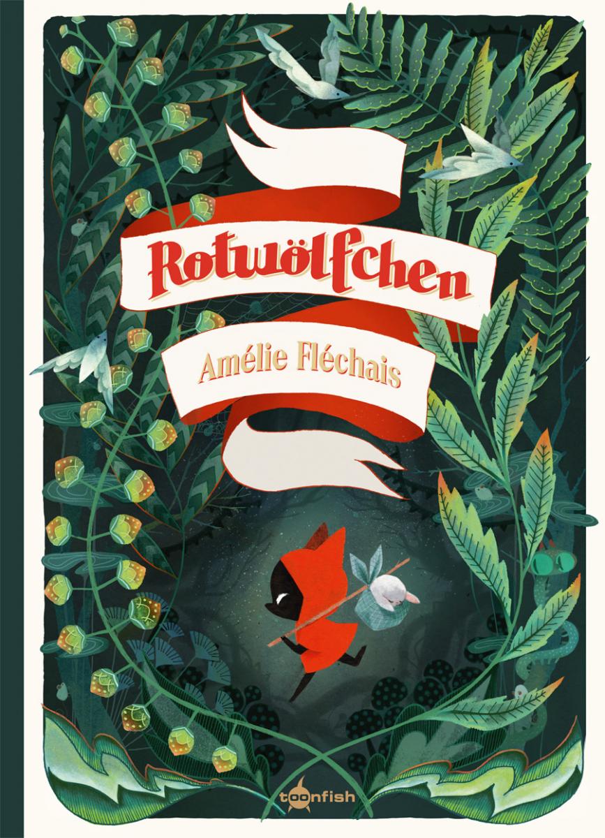 Kindercomic, Bilderbuch, Märchen, Wolf, Rotkäppchen, vorlesen, Klischeefrei, Grundschule, Familie, Kinder